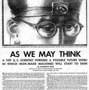Ванневар Буш предсказал компьютер ещё 1945г