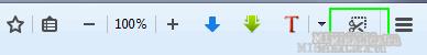 включить скриншот в браузере мозила Firefox