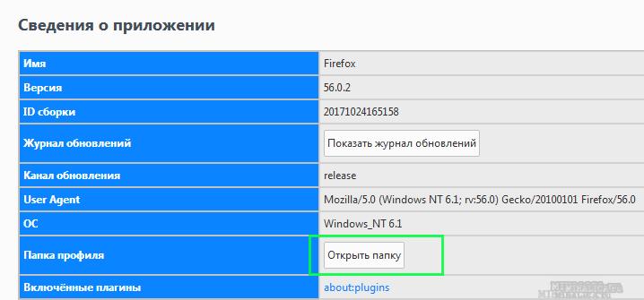 сохраняем пароли при переустановке браузера Mozilla Firefox