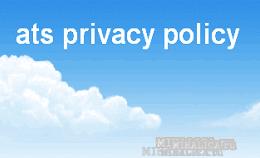Плагин ats privacy policy - обновления