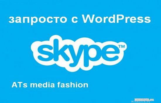 Skype консультация по любым вопросам — запросто с WordPress