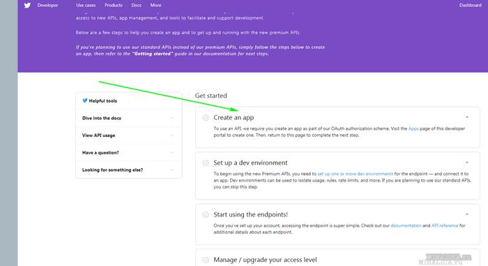 Twitter API Key Token