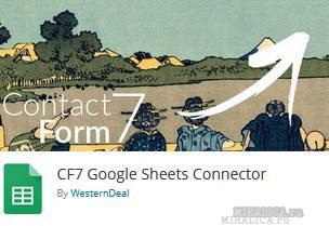 CF7 GSheetConnector настройки связки с Сontact-form-7 - скрытые поля