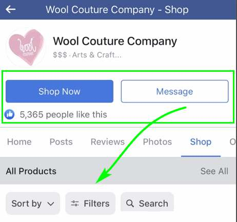 Facebook и WooCommerce