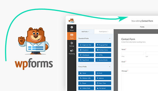 плагин для магазина WooCommerce WPForms